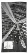 Chandelier In The Rafters Beach Towel