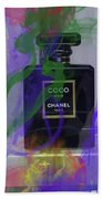 Chanel Coco Abstract Beach Towel