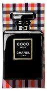 Chanel Coco Noir-pa-kao-ma2 Beach Towel