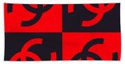 Chanel Design-3 Beach Towel