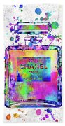 Chanel N.5 Colorful 5 Beach Towel