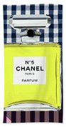 Chanel-no.5-pa-kao-ma1 Beach Towel