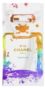 Chanel Number Nineteen Beach Towel
