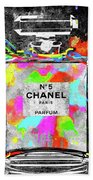 Chanel Rainbow Colors Beach Towel