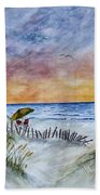 Chaos In The Sky Beach Towel