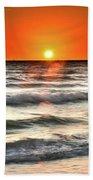 Chaotic Calm Beach Towel