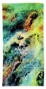 Chaotic Play Of Color Beach Towel