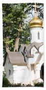 Chapel At Saints Boris And Gleb Beach Towel