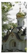 Chapel In The Trees Beach Towel