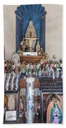 Chapel Mortuary Interior - San Xavier Del Bac Mission - Tucson Arizona Beach Towel