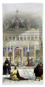 Chapel Of The Convent Of St Saba Beach Towel