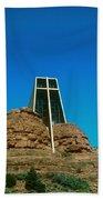 Chapel Of The Holy Cross Sedona Arizona Beach Sheet