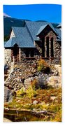 Chapel On The Rock  Beach Towel
