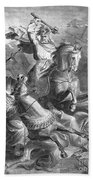 Charles Martel, Battle Of Tours, 732 Beach Towel