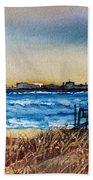Charleston At Sunset Beach Towel