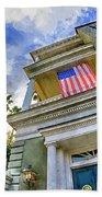 Charleston Patriot - Watercolor Beach Towel