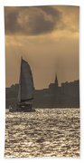 Charleston Sailing Beach Towel