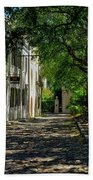 Charleston Side Street Beach Towel