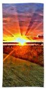 Charleston Sunset Beach Towel