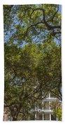 Charleston Through The Tree's Beach Towel