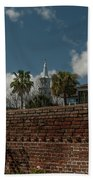 Charleston Walled Garden Beach Towel