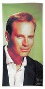 Charlton Heston, Hollywood Legends Beach Towel