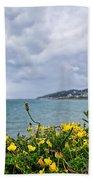 Charmouth Overlook Beach Towel