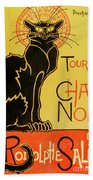 Chat Noir Beach Towel