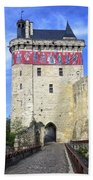 Chateau De Chinon Beach Towel