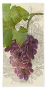 Chateau Pinot Noir Vineyards - Vintage Style Beach Towel