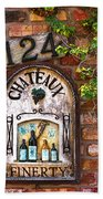 Chateaux Finerty Beach Towel