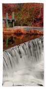 Chattahoochee River Helen Ga 002 Beach Towel