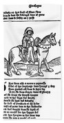 Chaucer: The Prioress Beach Towel