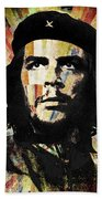 Che Guevara Revolution Gold Beach Towel