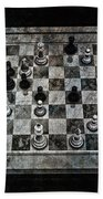 Checkmate In One Move Beach Towel