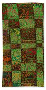 Checkoff Abstract Pattern Beach Towel