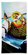 Cheech Marin In Boat Beach Towel