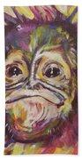 Cheeky Lil' Monkey Beach Towel