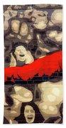 Cheer For Dusseldorf Beach Towel