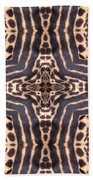 Cheetah Cross Beach Towel