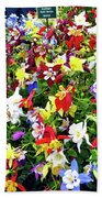 Chelsea Flower Show Beach Towel