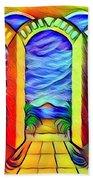 Cherish The Day  Beach Towel