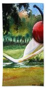 Cherry And Spoon Beach Towel