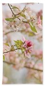 Cherry Blossom Delight Beach Towel