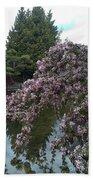 Cherry Blossom Beach Sheet