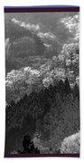 Cherry Blossom Season In Japan Mountain Hills Trees Photography By Navinjoshi At Fineartamerica.com  Beach Sheet