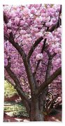 Cherry Blossom Wonder Beach Towel