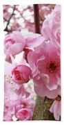 Cherry Blossoms Art Prints 12 Cherry Tree Blossoms Artwork Nature Art Spring Beach Towel