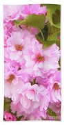 Cherry Blossoms I  Beach Towel