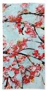 Cherry Blossoms V 201631 Beach Towel